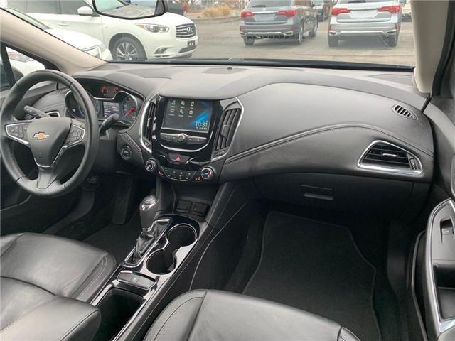 2017 Chevrolet Cruze Premier Auto (Stk: 4003) in Burlington - Image 13 of 24
