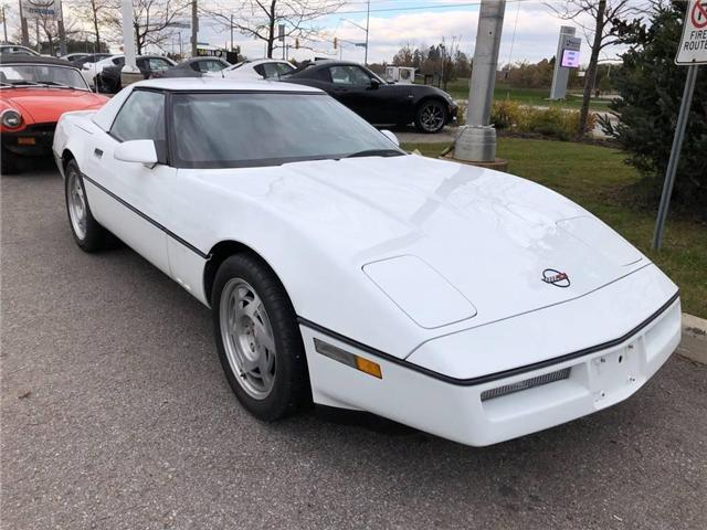 1990 Chevrolet Corvette CONVERTIBLE, HARD AND SOFT TOP, LOW KMS! (Stk: P6393C) in Barrie - Image 1 of 11