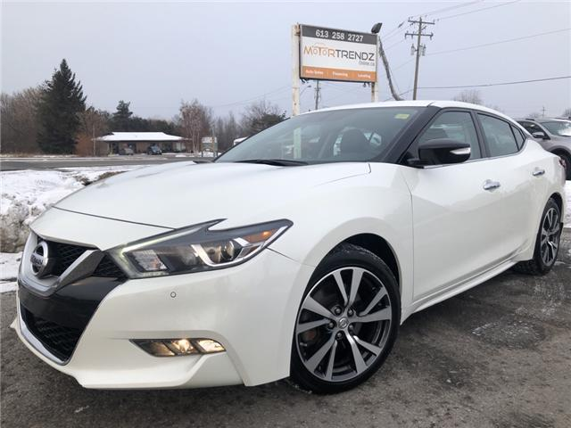 2017 Nissan Maxima SV (Stk: -) in Kemptville - Image 1 of 29