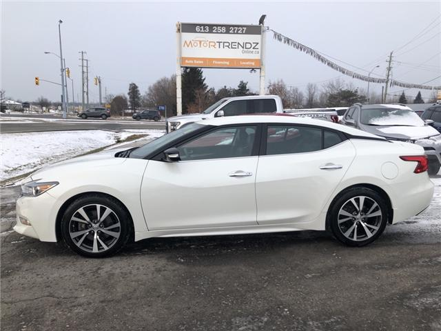 2017 Nissan Maxima SV (Stk: -) in Kemptville - Image 2 of 29
