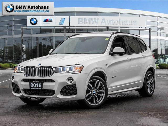2016 BMW X3 xDrive35i (Stk: P8704) in Thornhill - Image 1 of 21