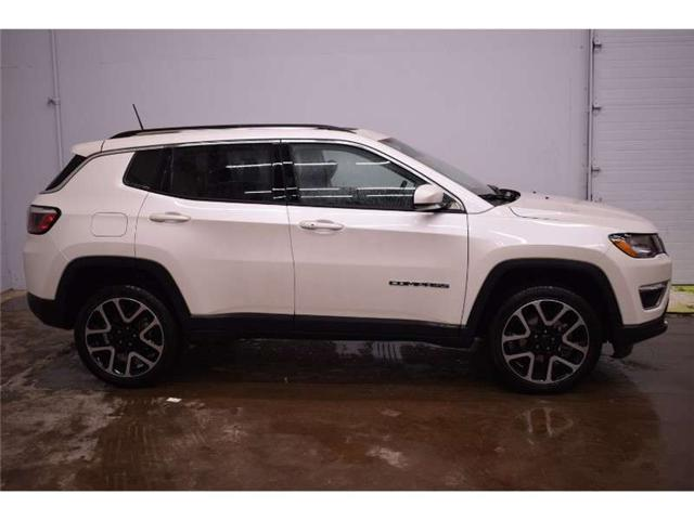 2018 Jeep Compass Limited 4X4 - HEATED SEATS * BACKUP CAM * LEATHER (Stk: B2974) in Cornwall - Image 1 of 30