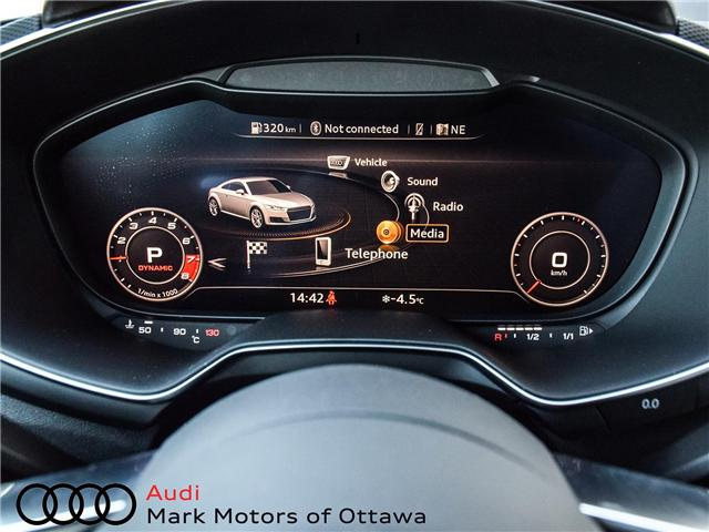 2017 Audi TTS 2.0T (Stk: 90158) in Nepean - Image 20 of 29