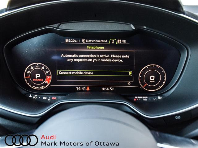 2017 Audi TTS 2.0T (Stk: 90158) in Nepean - Image 26 of 29