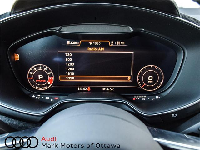 2017 Audi TTS 2.0T (Stk: 90158) in Nepean - Image 27 of 29