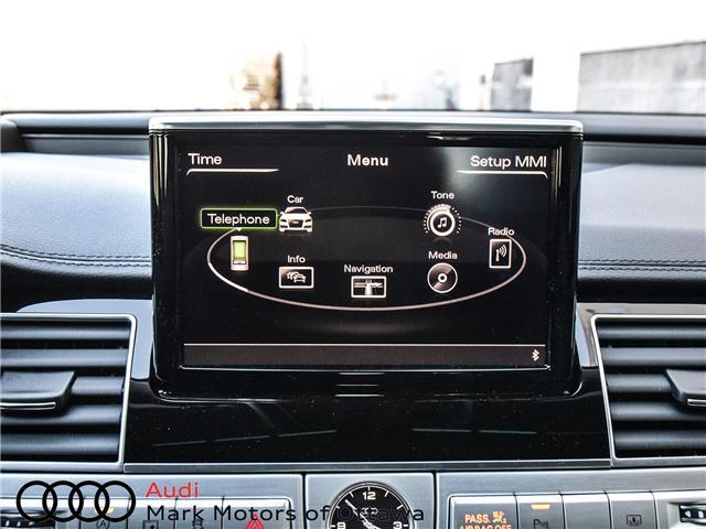 2017 Audi A8 4 0T at $85500 for sale in Ottawa - Audi Ottawa