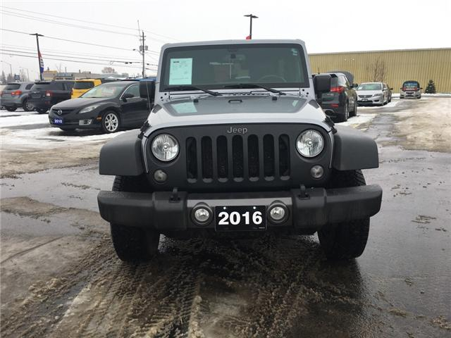 2016 Jeep Wrangler Unlimited Sport (Stk: 18698) in Sudbury - Image 2 of 14