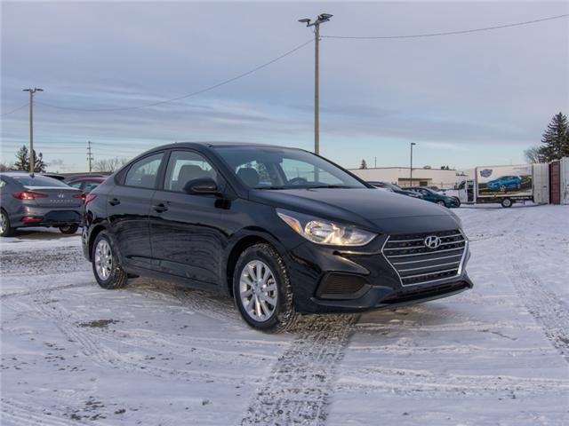 2019 Hyundai Accent Preferred (Stk: R95023) in Ottawa - Image 1 of 9