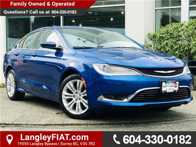 2015 Chrysler 200 Limited (Stk: LF009410) in Surrey - Image 1 of 30
