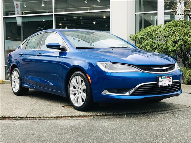2015 Chrysler 200 Limited (Stk: LF009410) in Surrey - Image 2 of 30