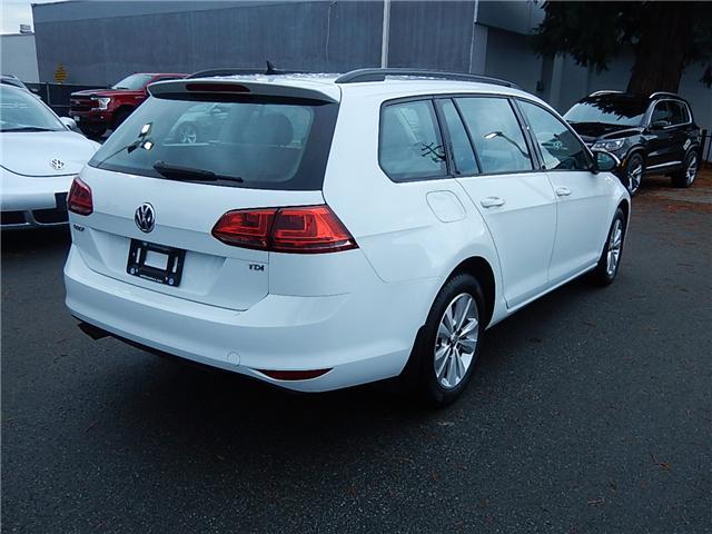 2015 Volkswagen Golf Sportwagon 2.0 TDI Comfortline (Stk: VW0751) in Surrey - Image 4 of 23