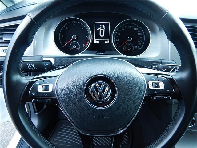 2015 Volkswagen Golf Sportwagon 2.0 TDI Comfortline (Stk: VW0751) in Surrey - Image 9 of 23
