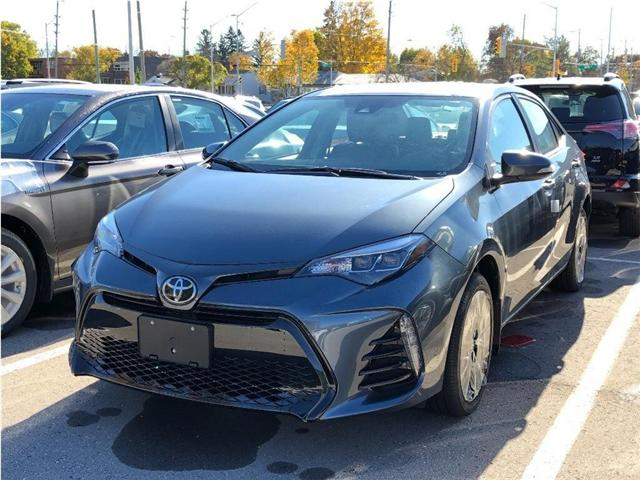 2019 Toyota Corolla SE Upgrade Package (Stk: 190019) in Whitchurch-Stouffville - Image 1 of 5
