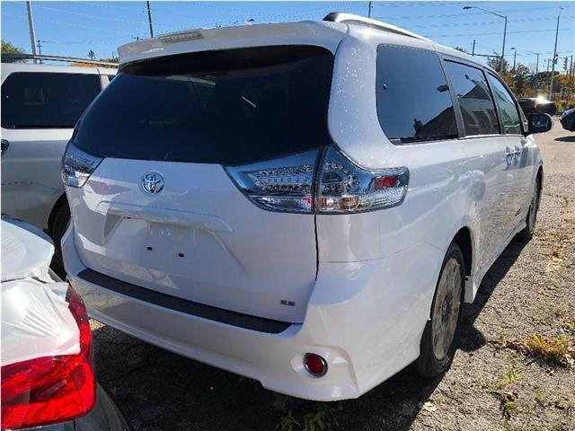 2019 Toyota Sienna SE 8-Passenger (Stk: 190126) in Whitchurch-Stouffville - Image 5 of 5