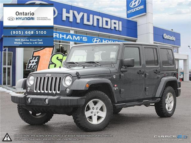 2016 Jeep Wrangler Unlimited Sahara / Automatic / Hard Top (Stk: 09361K) in Whitby - Image 1 of 27