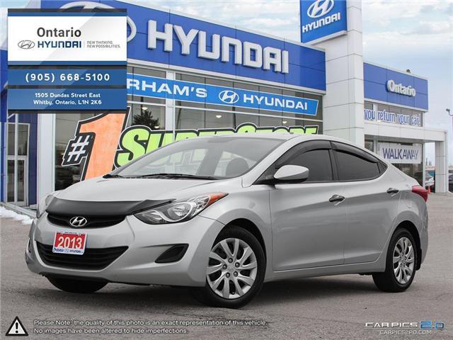 2013 Hyundai Elantra GL / Reduced Price (Stk: 57278K) in Whitby - Image 1 of 27