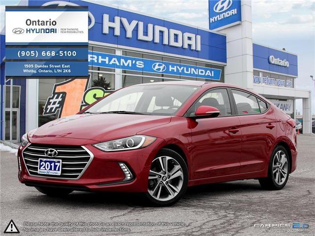 2017 Hyundai Elantra GLS (Stk: 18176K) in Whitby - Image 1 of 27