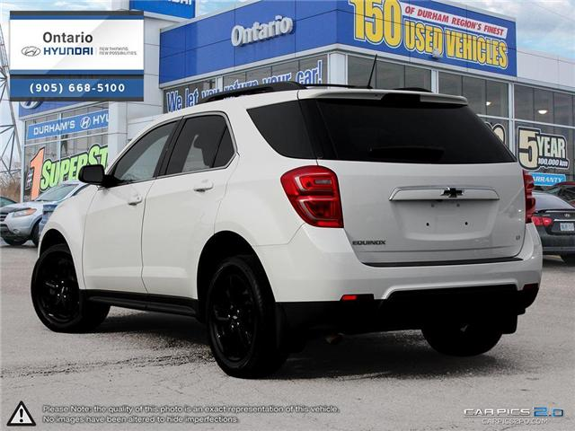 2017 Chevrolet Equinox LT / Upgraded Rims (Stk: 93072K) in Whitby - Image 4 of 27