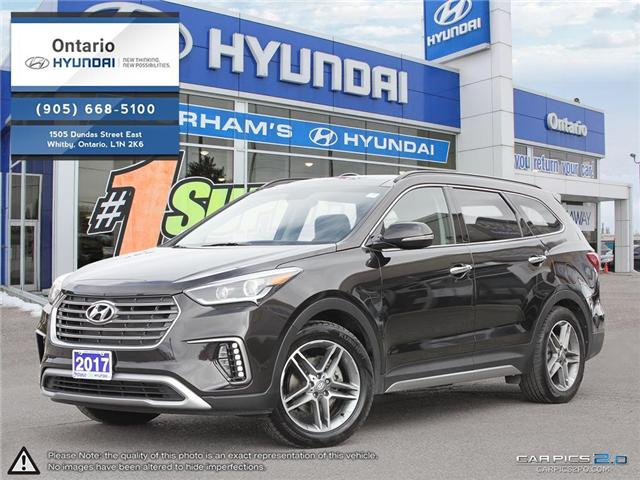 2017 Hyundai Santa Fe XL Limited (Stk: 14393K) in Whitby - Image 1 of 27