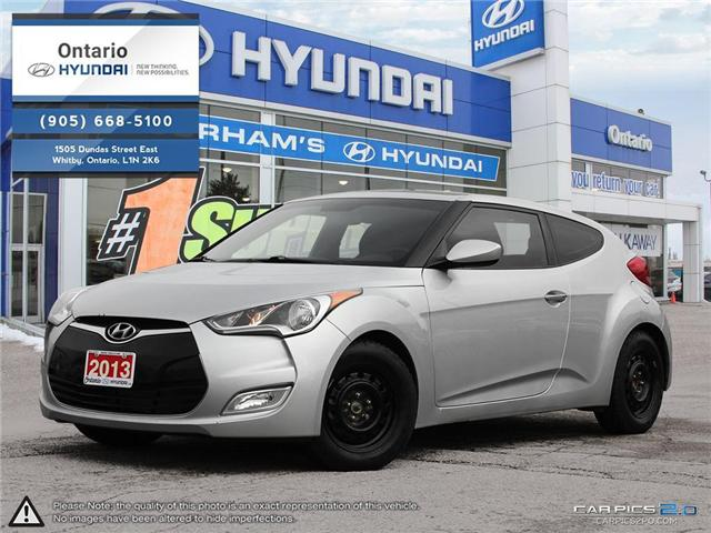 2013 Hyundai Veloster Tech / Auto (Stk: 90165K) in Whitby - Image 1 of 27