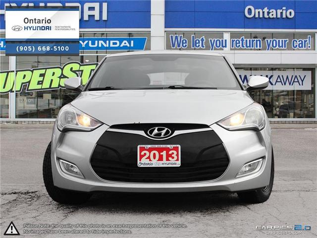 2013 Hyundai Veloster Tech / Auto (Stk: 90165K) in Whitby - Image 2 of 27