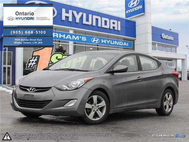2013 Hyundai Elantra GLS / Reduced Price (Stk: 90975K) in Whitby - Image 1 of 27