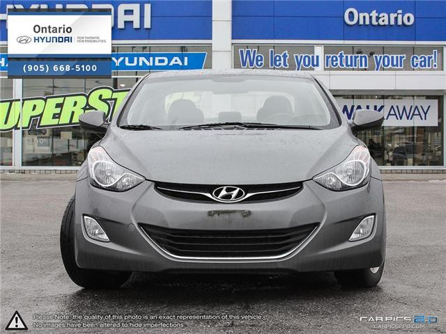 2013 Hyundai Elantra GLS / Reduced Price (Stk: 90975K) in Whitby - Image 2 of 27