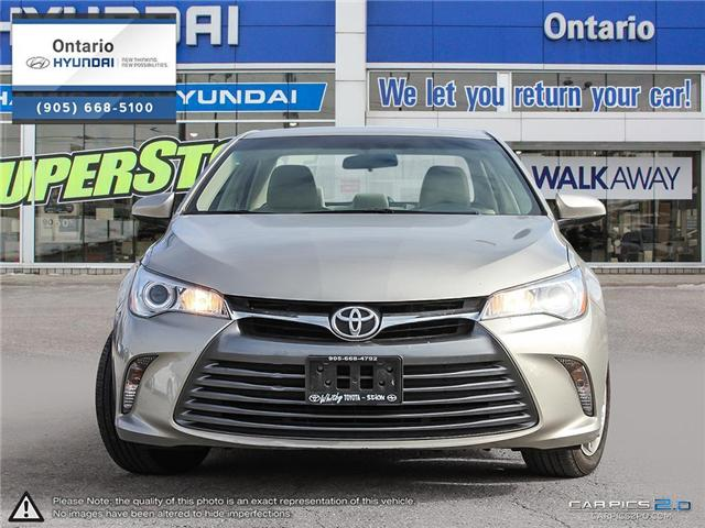 2015 Toyota Camry LE / Only 41,953 klm (Stk: 91727K) in Whitby - Image 2 of 27