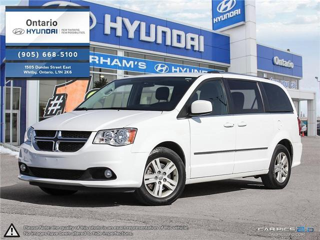 2017 Dodge Grand Caravan Crew / Leather (Stk: 00630K) in Whitby - Image 1 of 27