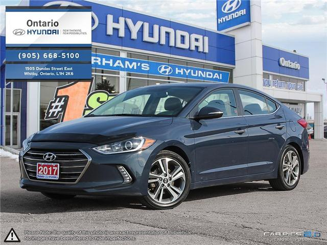 2017 Hyundai Elantra Limited / Reduced Price (Stk: 10978K) in Whitby - Image 1 of 27