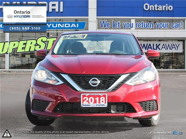 2018 Nissan Sentra 1.8 SV Sunroof (Stk: 26039K) in Whitby - Image 2 of 5