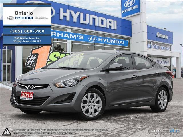 2014 Hyundai Elantra GL / Financing Available (Stk: 18233K) in Whitby - Image 1 of 27