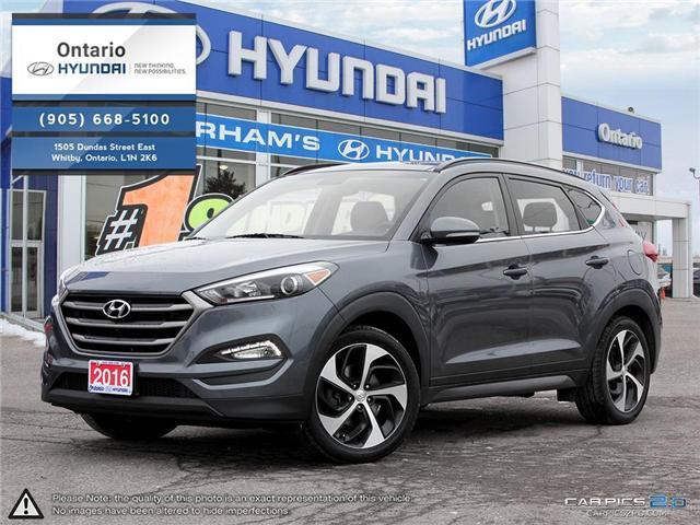 2016 Hyundai Tucson Luxury (Stk: 00856K) in Whitby - Image 1 of 27