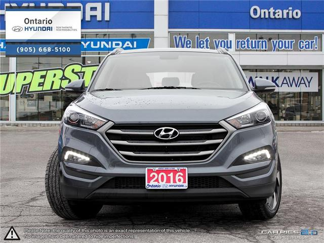 2016 Hyundai Tucson Luxury (Stk: 00856K) in Whitby - Image 2 of 27