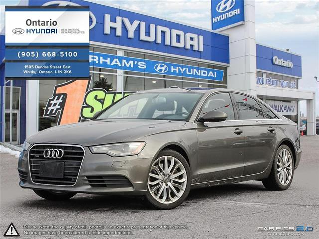 2013 Audi A6 / Luxury Package / Reduced Price 3.0T Premium (Stk: 04379K) in Whitby - Image 1 of 27