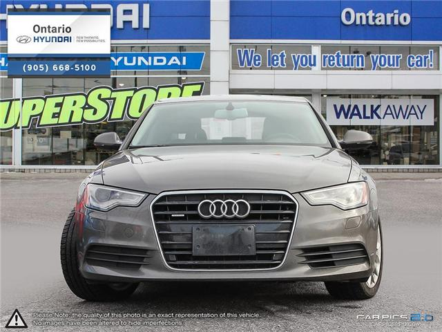 2013 Audi A6 / Luxury Package / Reduced Price 3.0T Premium (Stk: 04379K) in Whitby - Image 2 of 27