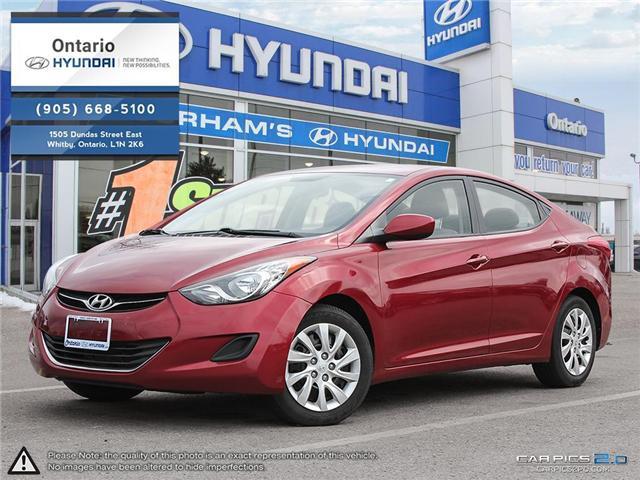 2012 Hyundai Elantra GL / Reduced Price (Stk: 99360K) in Whitby - Image 1 of 27