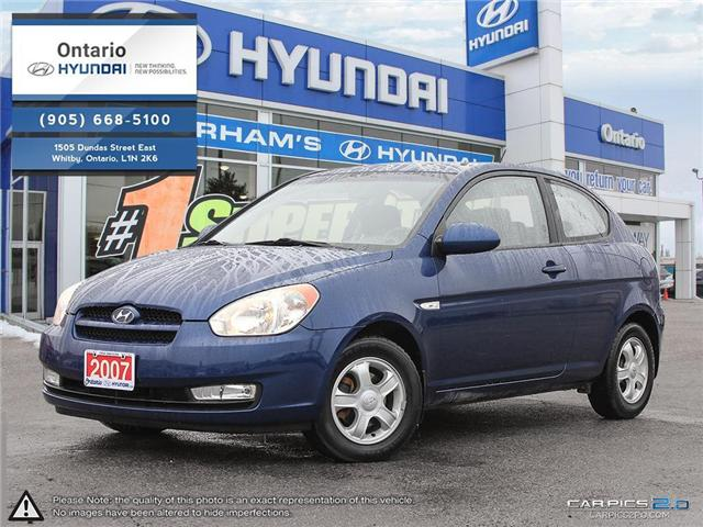 2007 Hyundai Accent GL Reduced Price (Stk: 07647K) in Whitby - Image 1 of 27