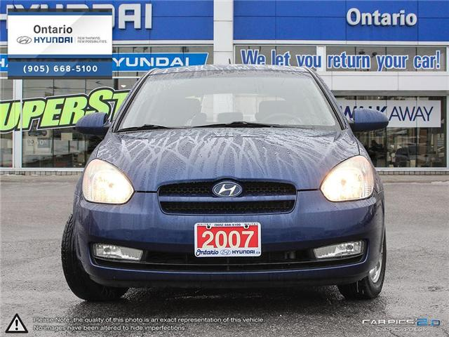 2007 Hyundai Accent GL Reduced Price (Stk: 07647K) in Whitby - Image 2 of 27