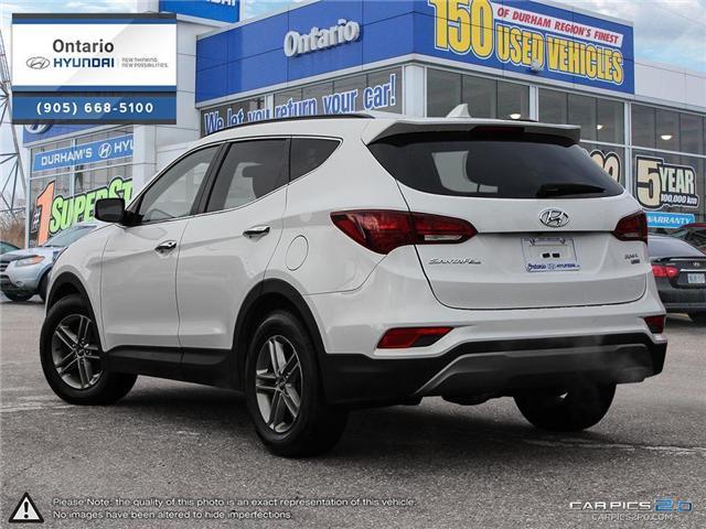 2018 Hyundai Santa Fe Sport 2.4 SE / AWD (Stk: 17177K) in Whitby - Image 4 of 27