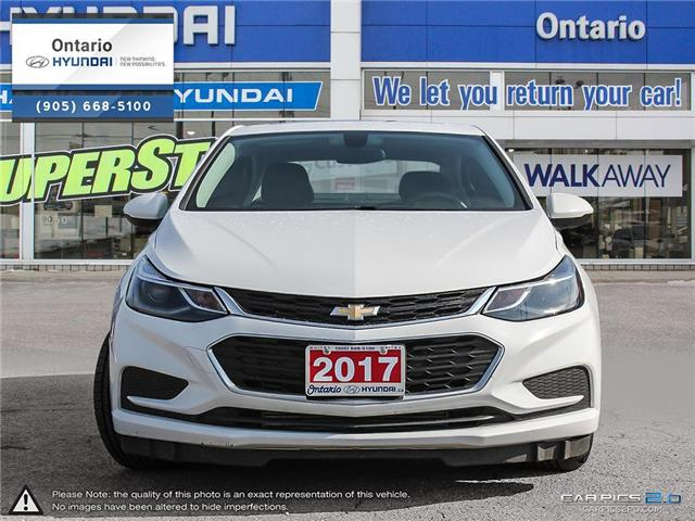 2017 Chevrolet Cruze LT Auto / Reduced Price (Stk: 91365K) in Whitby - Image 2 of 27
