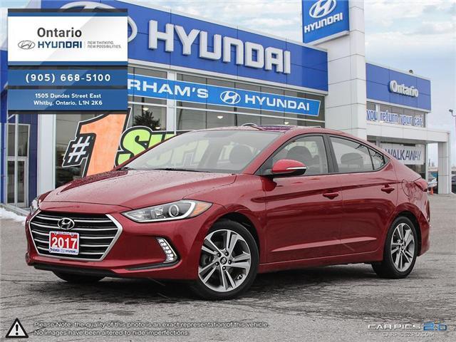 2017 Hyundai Elantra GLS / 37,819 klm (Stk: 90740K) in Whitby - Image 1 of 27
