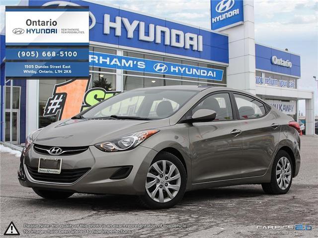 2013 Hyundai Elantra GL / Only 34,898 KLM (Stk: 58879K) in Whitby - Image 1 of 27