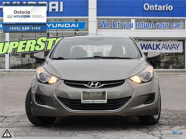 2013 Hyundai Elantra GL / Only 34,898 KLM (Stk: 58879K) in Whitby - Image 2 of 27