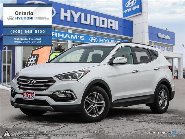2018 Hyundai Santa Fe Sport 2.4 Premium / AWD (Stk: 54966K) in Whitby - Image 1 of 27