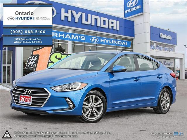 2018 Hyundai Elantra GL / Low Klm (Stk: 44901K) in Whitby - Image 1 of 27