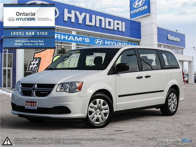 2015 Dodge Grand Caravan STO & GO (Stk: 30283K) in Whitby - Image 1 of 27