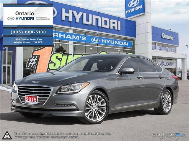 2015 Hyundai Genesis 3.8 Premium (Stk: 27942K) in Whitby - Image 1 of 27