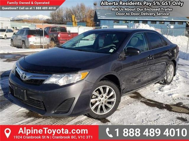 2012 Toyota Camry LE (Stk: S884356A) in Cranbrook - Image 1 of 16