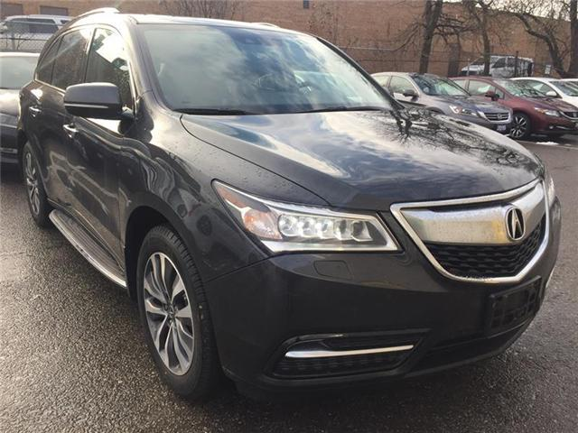 2015 Acura MDX Technology Package (Stk: 503373T) in Brampton - Image 1 of 4